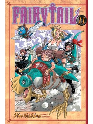 cover image of Fairy Tail, Volume 11